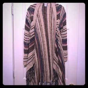 American Rag Oversized Wrap Sweater